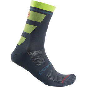 Castelli Trofeo 15 Socken dark steel blue